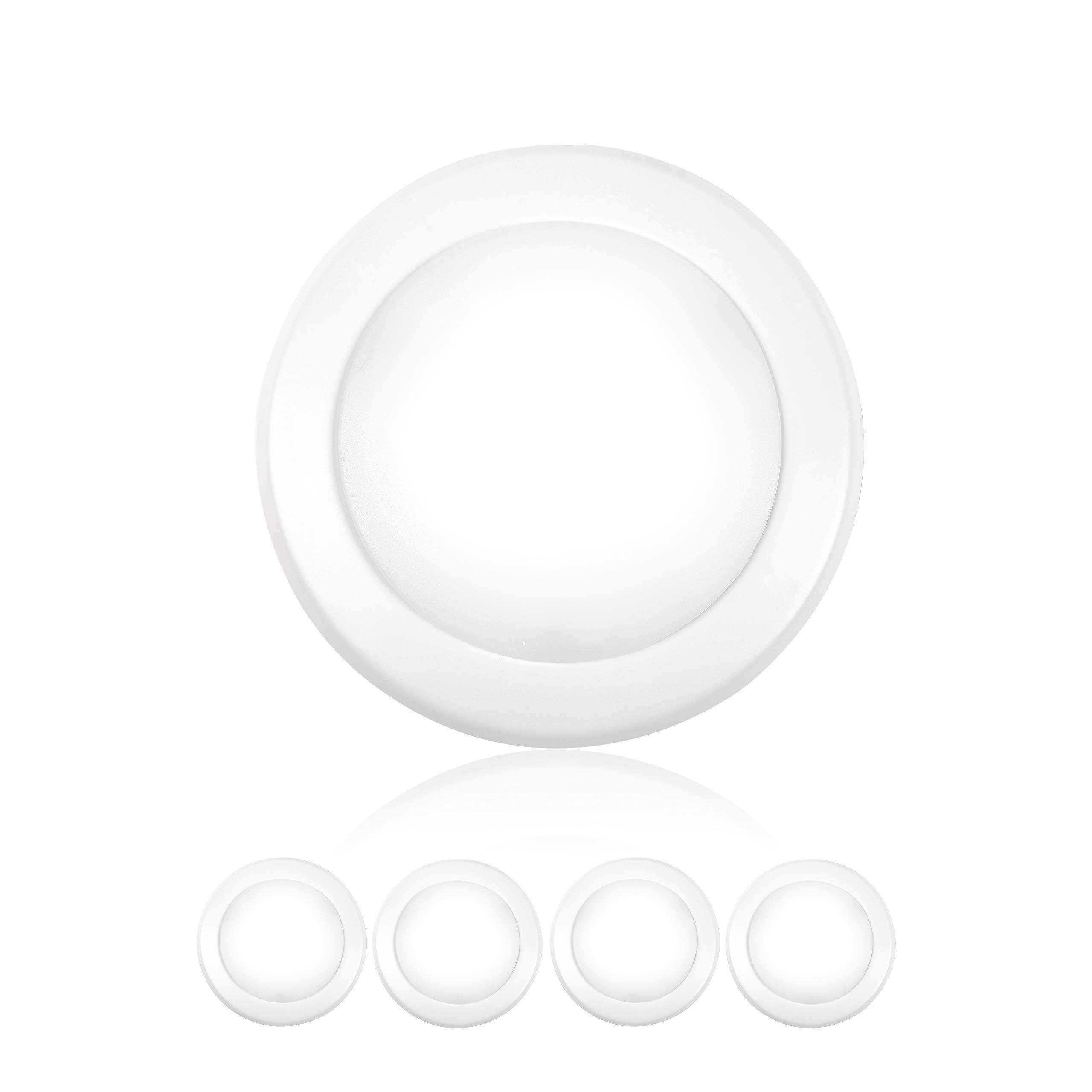 Parmida 4 Pack 5 6 Dimmable Led Disk Light Flush Mount