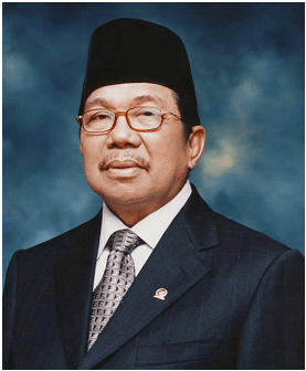 The Chairman of the Board of Trustees (H.M. Aksa Mahmud)
