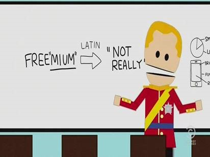 Freemium not really