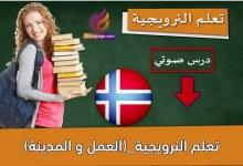 تعلم النرويجية_(العمل و المدينة)