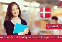 محادثة قصيرة باللغة الدنماركية / تحدث بطلاقة