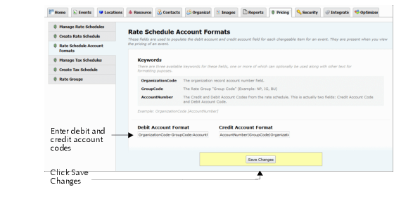 defining and assigning account