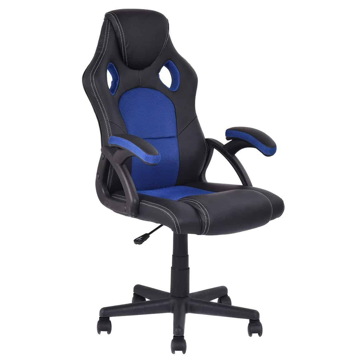 Giantex-PU-Leather-Gaming-Chair
