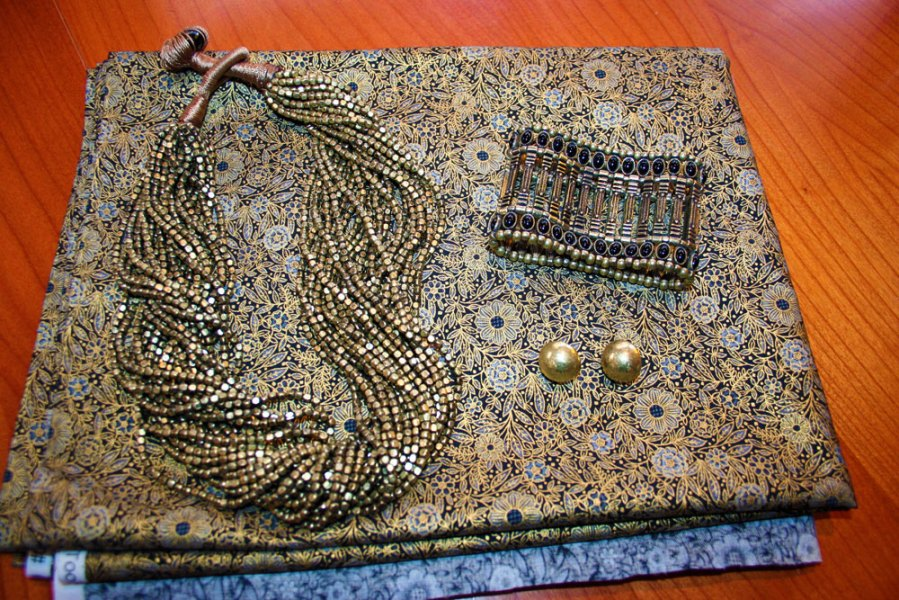 My new old gold evening purse