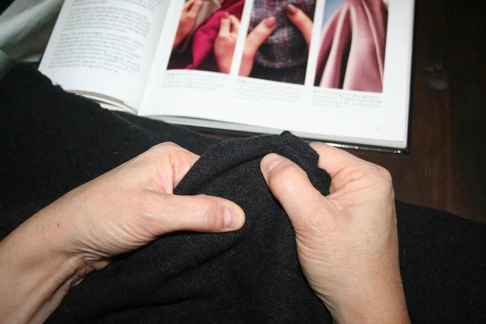 V8940 | Tailoring Moshe's Coat - part 1