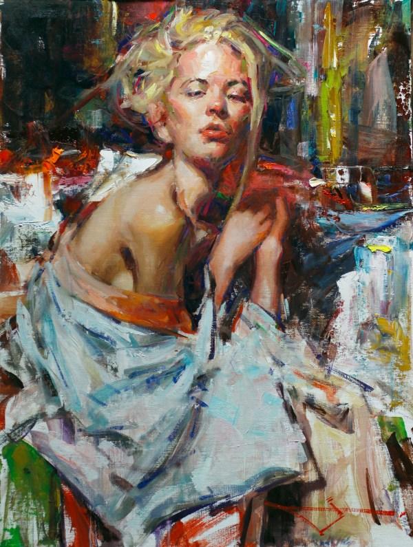 American Artist Oil Painting Portrait