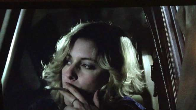 Megan (Greta Gerwig) waits for Samantha (Jocelin Donahue) outside a babysitting assignment turned sinister.
