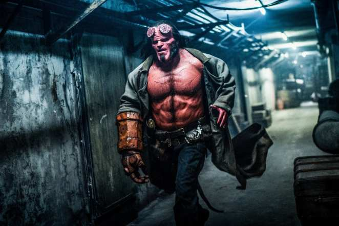 Hellboy (David Harbour) rushes into action to save the world from monsters and demons.
