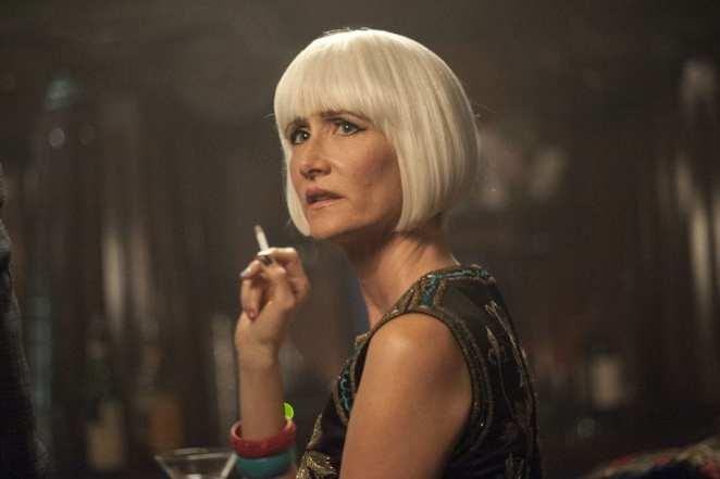 The reveal of Diane Evans in Twin Peaks, Laura Dern