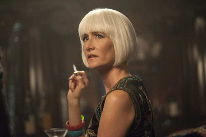 The reveal of Diane Evans in Twin Peaks, Laura Dern