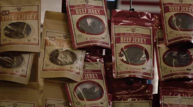 beef jurkey for sale in Twin Peaks store