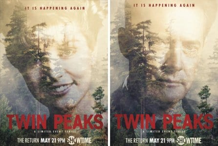 Promo images of Twin Peaks the Return