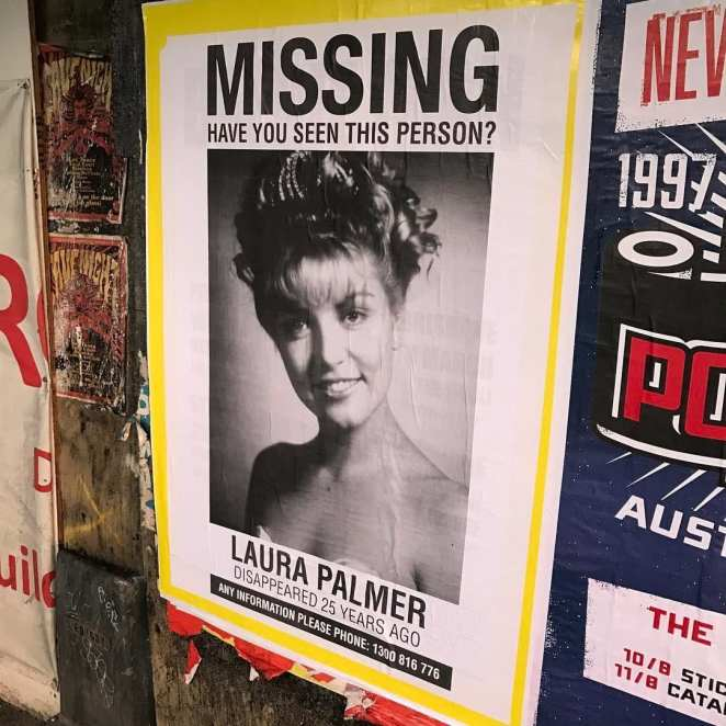 Laura Palmer missing posters