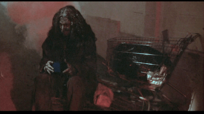 the hobo in Mulholland Drive