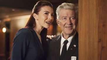 Tammy and Gordon spy on Albert and smile