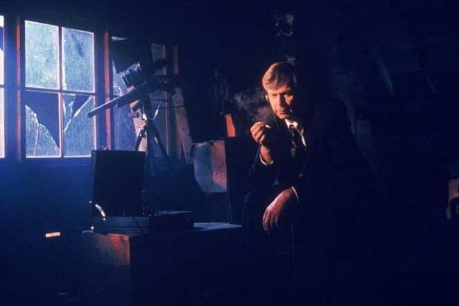 "William B. Davis as CSM in Season Four's ""Musings of a Cigarette-Smoking Man."""