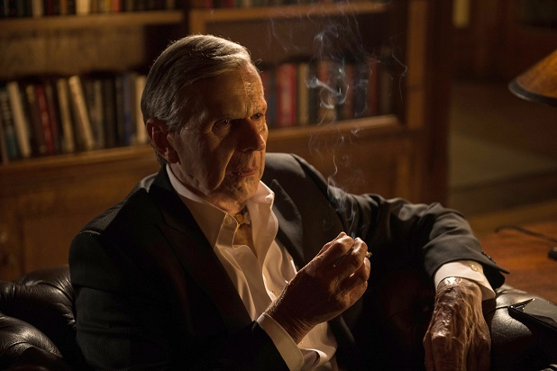 The cigarette smoking man in The X-Files