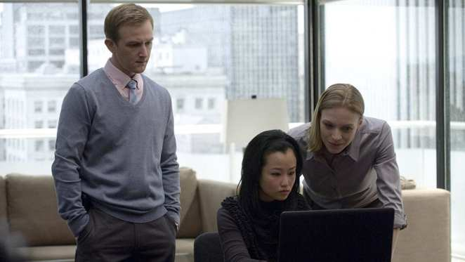Jamie Wright and Gwen Eaton in The Killing