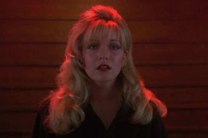 Laura Palmer in crisis in Fire Walk With Me