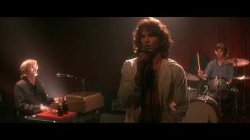Val Kilmer as Jim Morrison in The Doors