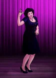Audrey Horne by Paul Hanley