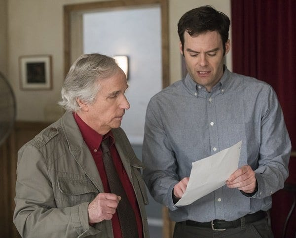 Henry Winkler and Bill Hader in Barry
