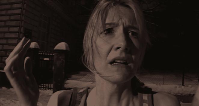 Laura Dern in Inland Empire as Nikki Grace