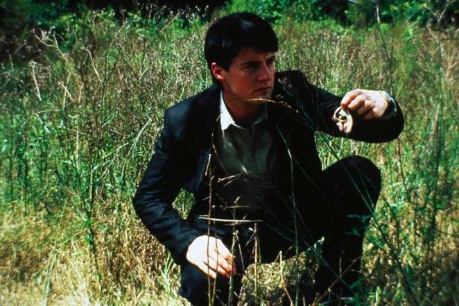 Jeffrey Beaumont finds an ear in Blue Velvet
