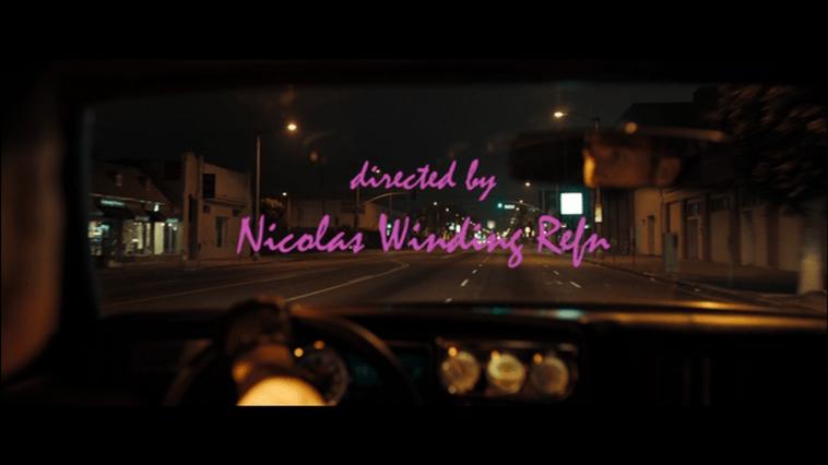 Nicolas Winding Refn written on a screen
