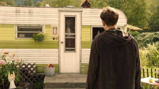 Miriam hides from Richard Horne in her trailer