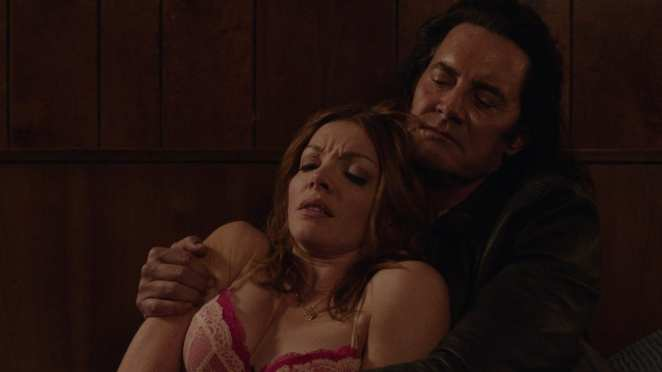 Mr C attacks and kills Darya in Twin Peaks
