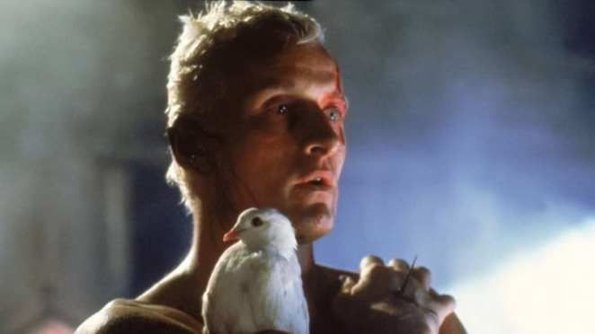 Roy Batty played by Rutget Hauer in Blade Runner