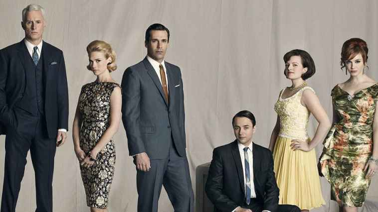 Mad Men main characters lined up