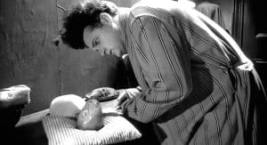 Henry tries to take care of his baby in eraserhead