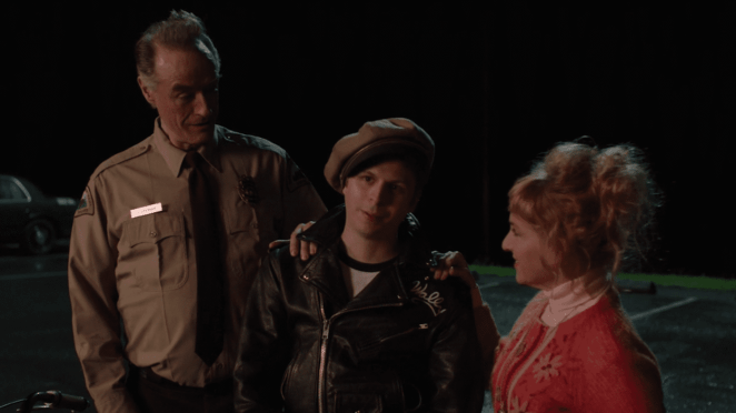 Harry. Wally Brando and Lucy in Twin Peaks