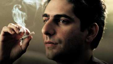 Christopher Moltesanti smoking a cigarette