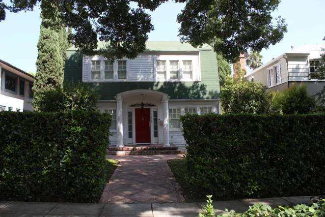 Nancy Thompson's house in Wes Craven's New Nightmare in real life