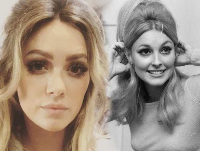 Hillary Duff as Sharon Tate in the upcoming film, The Haunting of Sharon Tate.