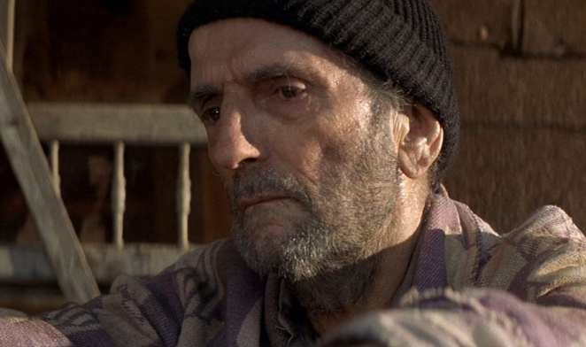 Harry Dean Stanton in The Straight Story