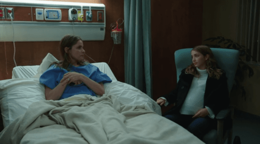 Julia (or Olivia?) and Ella in The Romanoffs, 'Expectation'