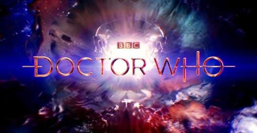 Doctor Who title screen