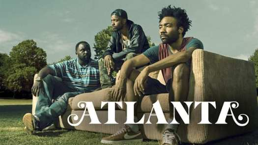 Title poster for Atlanta on FX starring Donald Glover