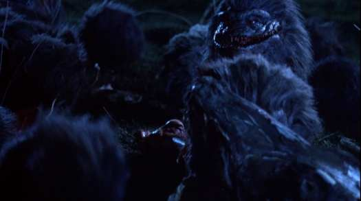 A shot from Critters 2: The Main Course