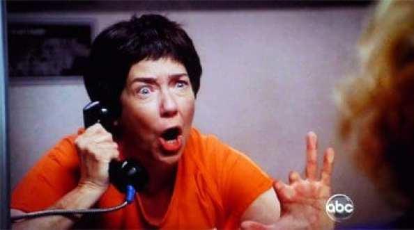 Harriet Sansom Harris as Felcia Tilman from Desperate Housewives