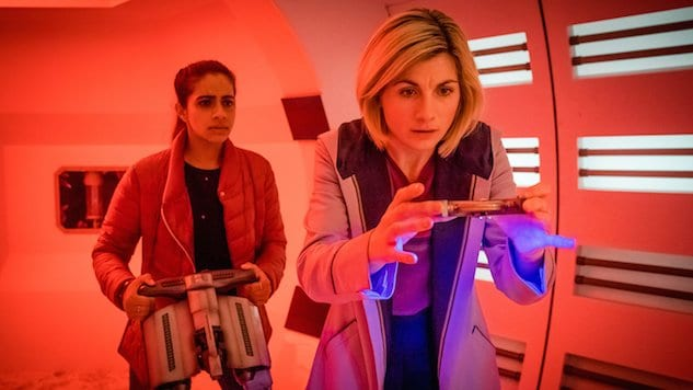 Picture shows: Yaz (MANDIP GILL), The Doctor (JODIE WHITTAKER)