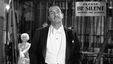 Jean Dujardin as George Valentin in The Artist