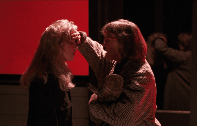 The Log Lady and Laura, Fire Walk With Me