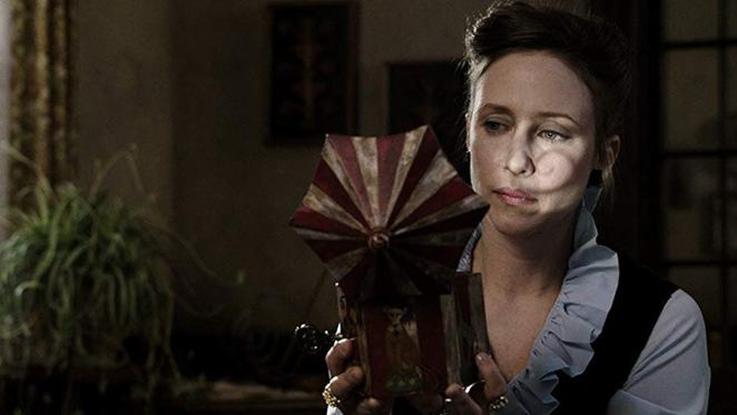 Vera Farmiga stars as Lorraine Warren in The Conjuring
