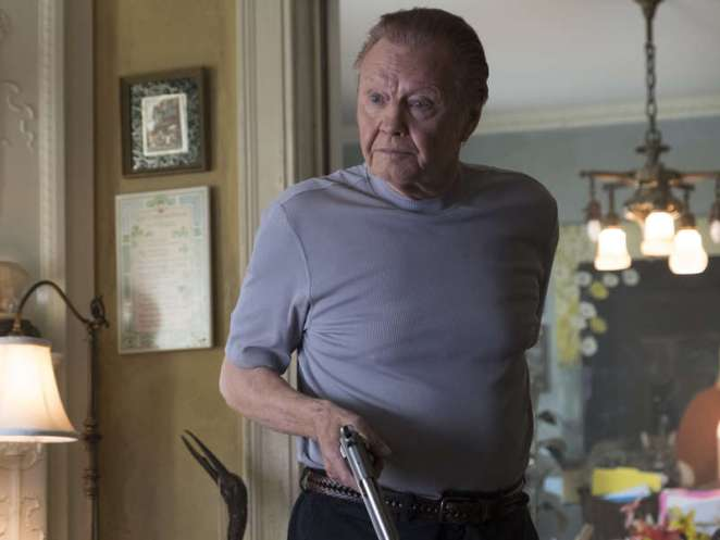 Mickey, played by Jon Voight in 'Pudge' Ep4, S6 Ray Donovan