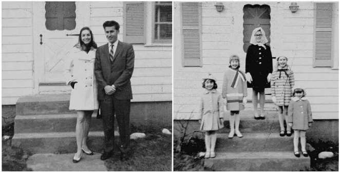 The Perron Family whose story inspired The Conjuring film